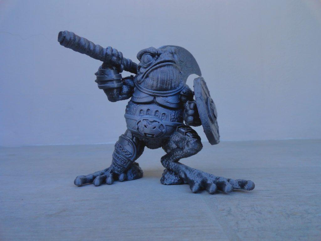 War Frog (3D Sculpture) PLA Print