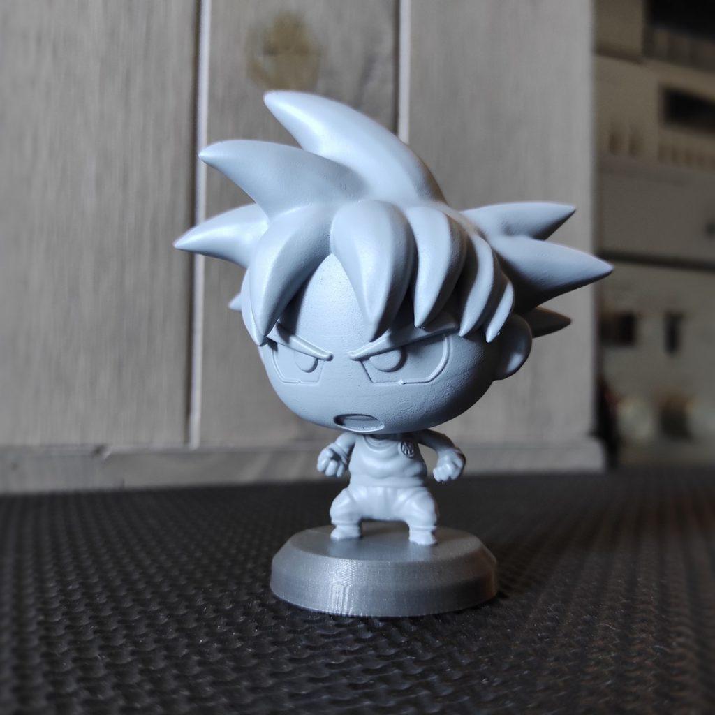 Goku DBZ - Funko pop style - Impression resine (+ appret)
